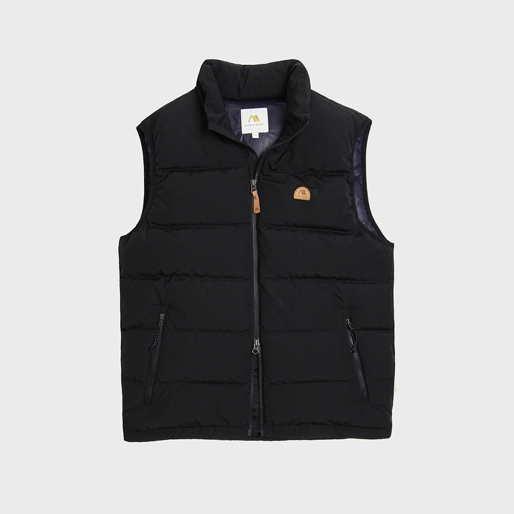 [35%]Basic Down Vest (Black)