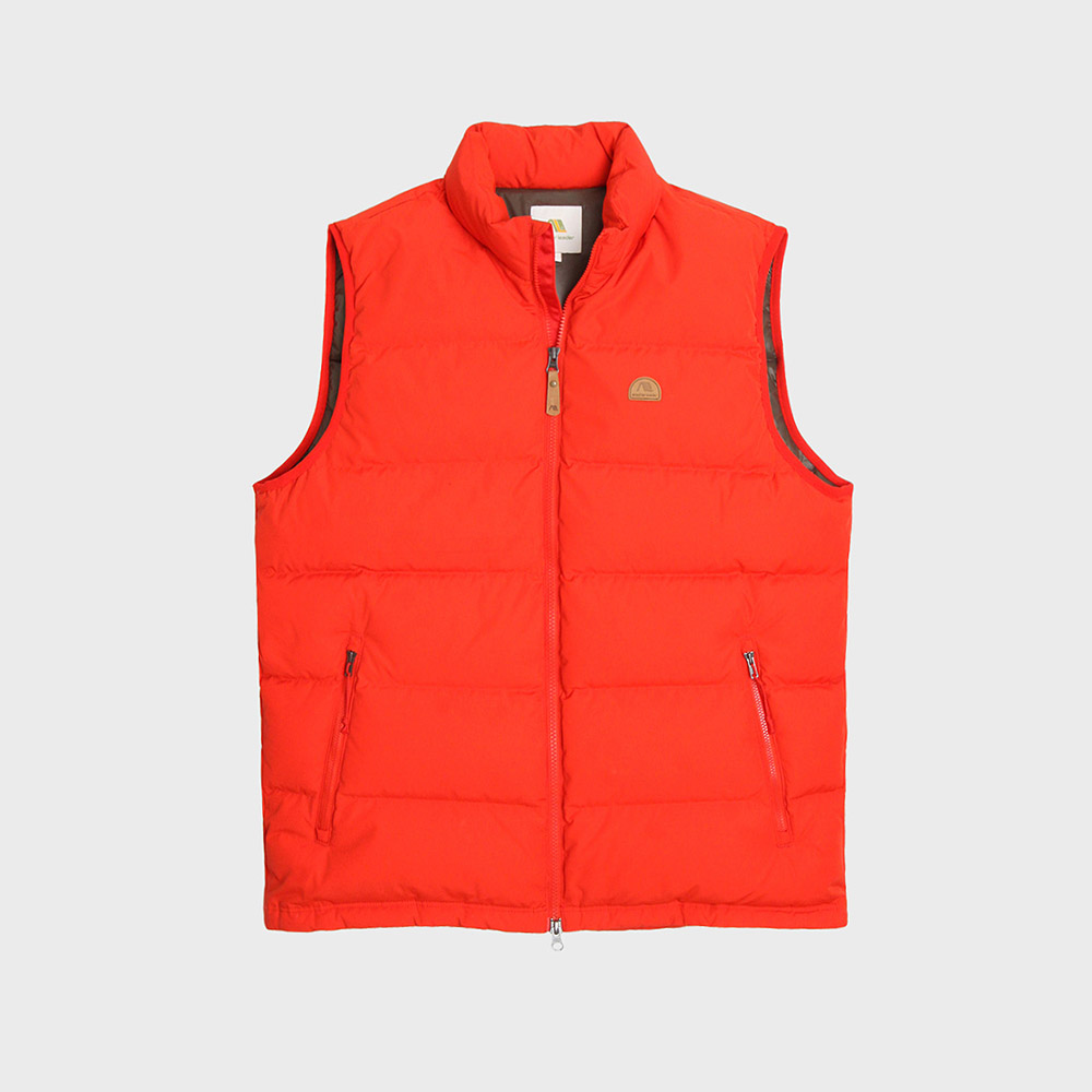 [35%]Basic Down Vest (Red)