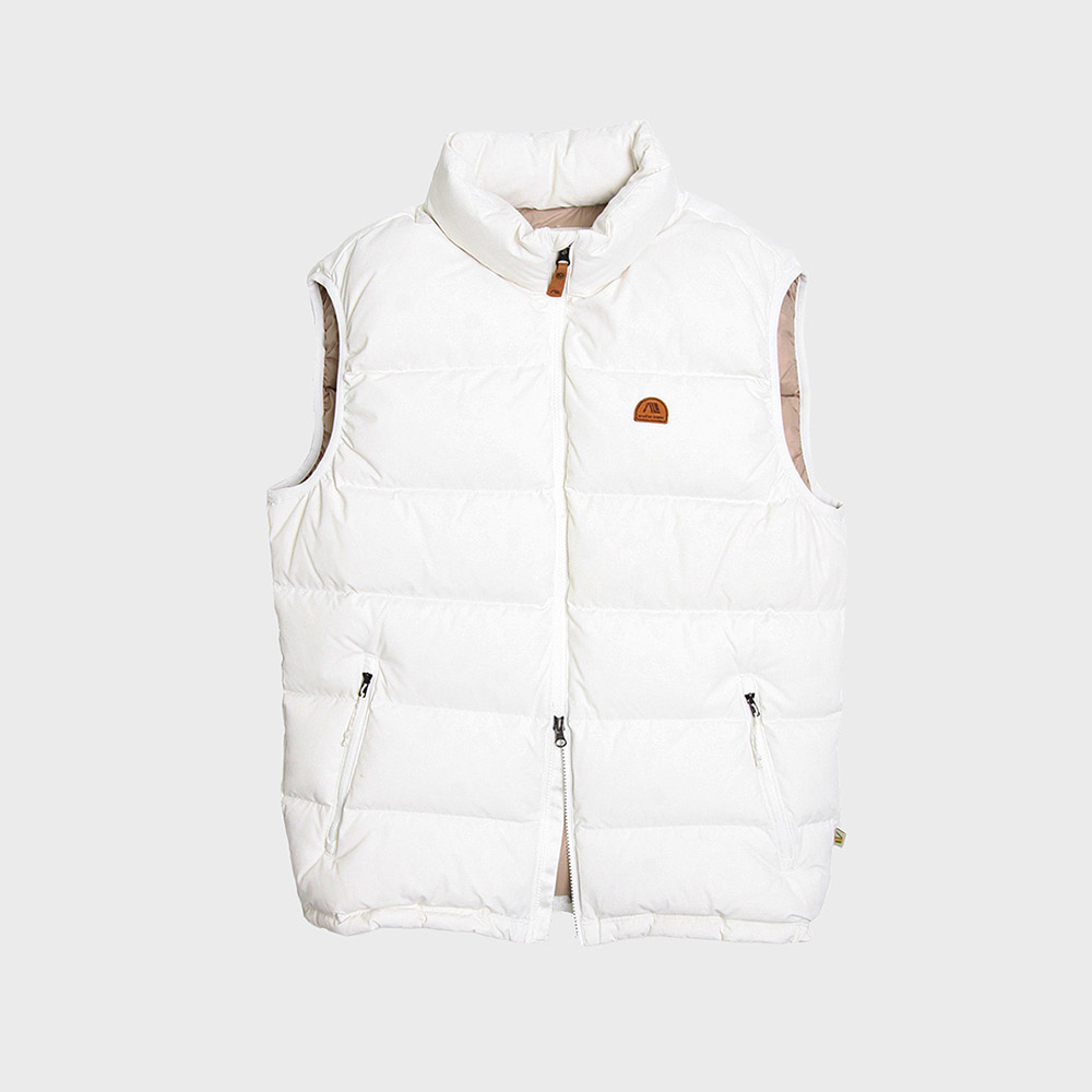 [35%]Basic Down Vest (White)