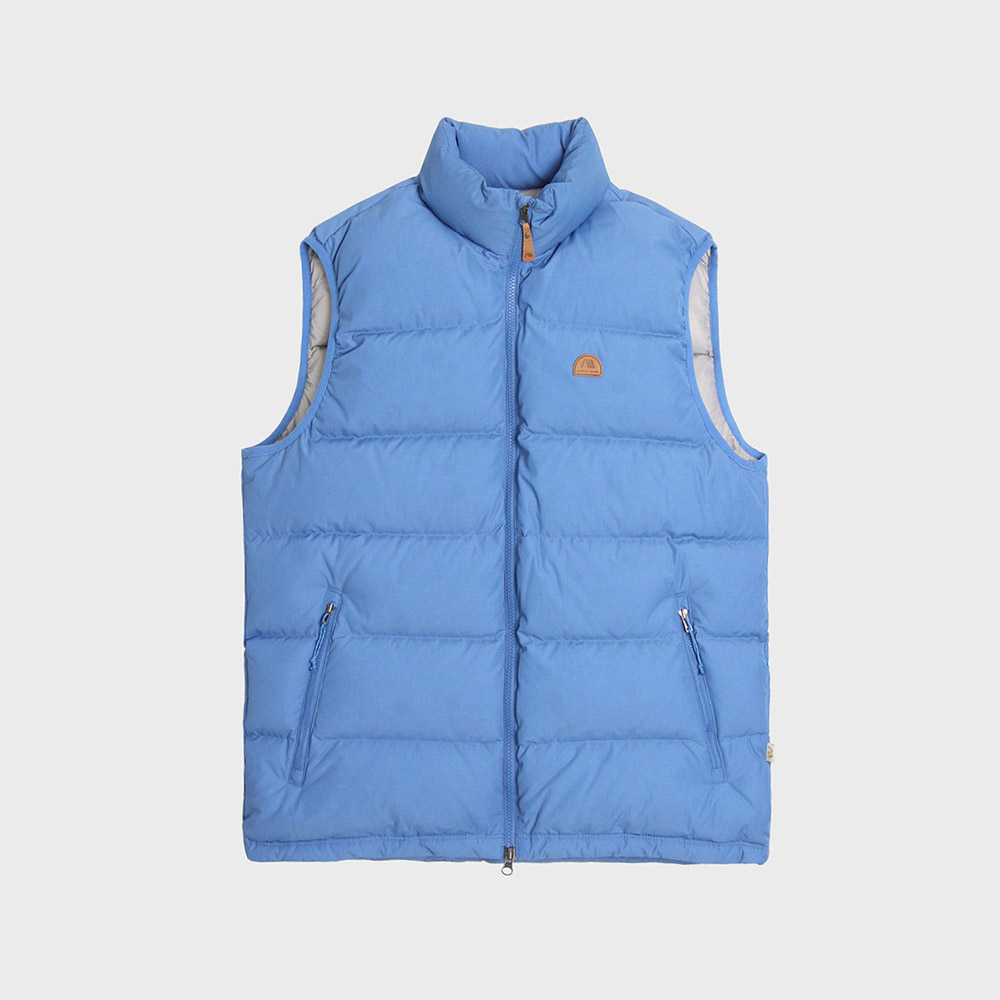 [안정환착용][35%]Basic Down Vest (Blue)