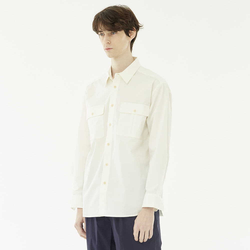 Leader Cotton shirts(White)